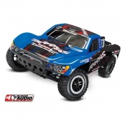Traxxas Slash: 1/10-Blue   NT25-1858  - Books Games & Toys - RV Part Shop USA