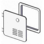 Girard Products GSWH-2 Door Kit White   NT42-3251  - Water Heaters - RV Part Shop USA