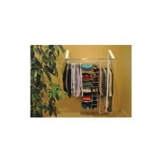 Arrow Hanger Quikcloset White Plastic   NT69-5333  - Laundry and Bath