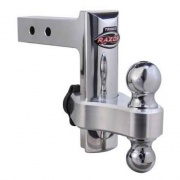 Trimax Adjustable Receiver Hitch Aluminum 6In   NT69-9924  - Ball Mounts - RV Part Shop USA