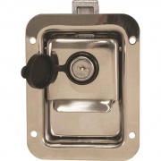 Buyers Products Jr Stainless Steel Single Point Latch   NT71-1691  - Doors