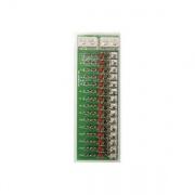 WFCO/Arterra 12V DC Fuse Panel   NT95-2515  - Power Centers