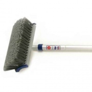 """Adjust-A-Brush 3'6\\"""" Handle Flo With Brush  NT02-0108  - Cleaning Supplies"""