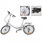 """Faulkner Bike Pedal Folding 20\\""""  NT03-0357  - Camping and Lifestyle"""