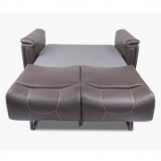 "Lippert 68\"" Cougar Trifold 2016 67X34X38 (Majestic Chocolate Tan Topstitch)  NT03-2065  - Sofas - RV Part Shop USA"