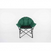 Faulkner Big Dog Bucket Chair Green/Black  NT03-2141  - Camping and Lifestyle