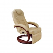 Lippert Xl Euro Chair With Footrest 31X33X40 (Alternate Latte)  NT03-2185  - Interior Chairs