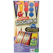 Poof-Slinky Magnetic Go Backgammon  NT03-2266  - Games Toys & Books