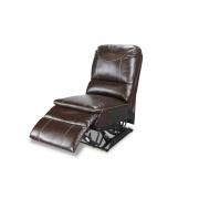 Lippert Armless Recliner, Momentum, Heat, Massage, & Lights 22X35X40 (Jaleco Chocolate)  NT03-2273  - Interior Chairs