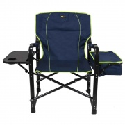 Faulkner El Capitain Directors Chair w/Clr Blue/Green  NT03-2307  - Camping and Lifestyle - RV Part Shop USA