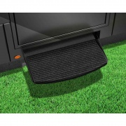 """Prest-O-Fit Ruggids Step Rug 22\\"""" Ch Blk  NT04-0241  - RV Steps and Ladders"""