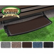 Prest-O-Fit Outrigger Rad Choc Brn  NT04-0290  - RV Steps and Ladders