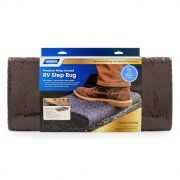 Camco Scrub Rug TPE Backing 22 X 23 Brown  NT04-0562  - RV Steps and Ladders