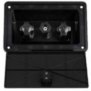Dura Faucet Exterior Spray Box - Black  NT10-1223  - Faucets - RV Part Shop USA