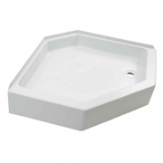 Lippert White 24X36 Right-Hand Shower Pan   NT10-1762  - Tubs and Showers