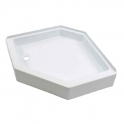 Lippert White 24X36 Left-Hand Shower Pan   NT10-1764  - Tubs and Showers
