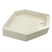 Lippert Parchment Shower Pan 24X40 Right-Hand   NT10-1768  - Tubs and Showers