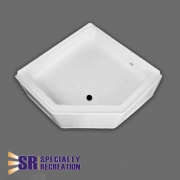Specialty Recreation Neo Shower Base 27X27 Front Center Drain   NT10-1876  - Tubs and Showers