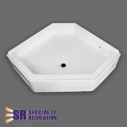 Specialty Recreation Neo Shower Base 34X34 Front Center Drain   NT10-1880  - Tubs and Showers - RV Part Shop USA