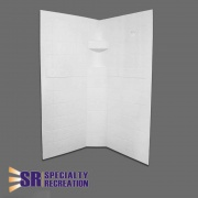 Specialty Recreation Neo Shower Wall 32X32X67  NT10-1886  - Tubs and Showers - RV Part Shop USA