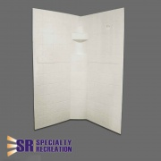 Specialty Recreation Neo Shower Wall 34X34X67  NT10-1887  - Tubs and Showers - RV Part Shop USA