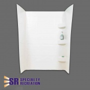 Specialty Recreation Shwrwall24X32X66White  NT10-1911  - Tubs and Showers