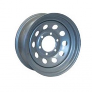 Americana 16X6 Trailer Wheel Modular 8X6.5 Starlite  NT17-0308  - Wheels and Parts