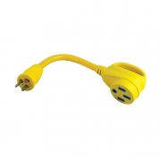 Marinco 15A M To 50A F Adapter  NT19-4080  - Power Cords