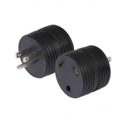 Marinco 15A Male-30A Female Adapter One Pc  NT19-4211  - Power Cords
