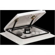 Maxxair Vent 4-Speed White Lid Manual  NT22-0504  - Exterior Ventilation