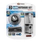 Performance Tool 3PC LED FLASHLIGHT & LANTERN  NT71-4726  - Flashlights/Worklights - RV Part Shop USA