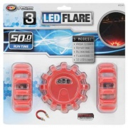 Performance Tool 3PK LED ROAD FLARES  NT71-6339  - Emergency Warning - RV Part Shop USA