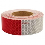 """Optronics 4X18\\"""" Red/White Reflective Tape   NT71-7145  - Lighting - RV Part Shop USA"""