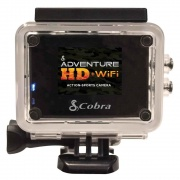 Cobra Electronics Adv HD WiFi Action Cam  NT72-0731  - Observation Systems