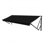 Lippert Unversal Awning Fabric 16 ft. Solid Black Black Wrap  NT90-2075  - Patio Awning Fabrics - RV Part Shop USA