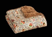 """Camp Casual THE THROW-COZY CRITTERS-TAN 50\\""""X60\\""""  NT03-2189  - Sofas - RV Part Shop USA"""