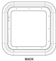 Girard Products DOOR TRIM RING FOR 2GWHD - WHITE  NT20-2083  - Water Heaters - RV Part Shop USA