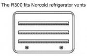 JCJ Enterprises NORCOLD MUD DAUBER SCREEN  NT08-0254  - Refrigerators - RV Part Shop USA