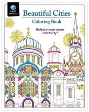 Rand McNally BEAUTIFUL CITIES COLORING  NT71-6441  - Games Toys & Books - RV Part Shop USA