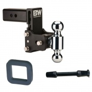 """B&W 8\\"""" Double Ball Tow And Stow   NT14-3308  - Ball Mounts - RV Part Shop USA"""