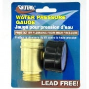 Valterra Water Pressure Gauge Lead-Free   NT10-0561  - Freshwater - RV Part Shop USA