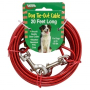 Valterra TIE-OUT CABLE 20FT  NT71-8521  - Pet Accessories - RV Part Shop USA