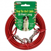Valterra TIE-OUT CABLE 30FT  NT71-8522  - Pet Accessories - RV Part Shop USA
