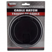 Valterra Hatch Electric Large Round Black   NT19-3370  - Power Cords - RV Part Shop USA