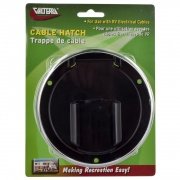 Valterra Hatch Electric Med Round Black   NT19-3371  - Power Cords - RV Part Shop USA