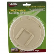 Valterra Cable Hatch Medium Round C White Cd   NT19-1792  - Power Cords - RV Part Shop USA