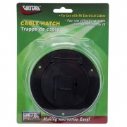 Valterra Hatch Electric Small Round Black   NT19-3372  - Power Cords - RV Part Shop USA