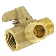 "Valterra Diverter Valve 1/2\"" Brass MxMxf Bulk   NT10-0165  - Freshwater - RV Part Shop USA"