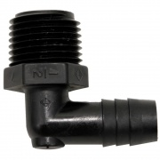 Valterra 1/2 Barb X 1/2 MPT Elbow Adapter   NT10-0864  - Freshwater - RV Part Shop USA