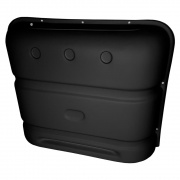 Icon Deluxe Thermoformed Propane Tank Cover - Black  NT71-5788  - LP Tank Covers - RV Part Shop USA